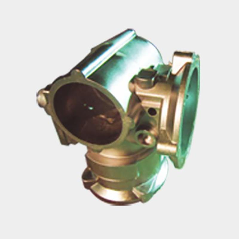 High pressure electric valve body